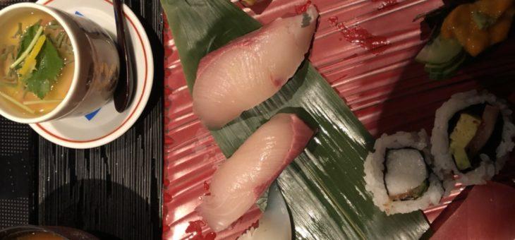 とんちゃん、かんちゃんお寿司ランチ